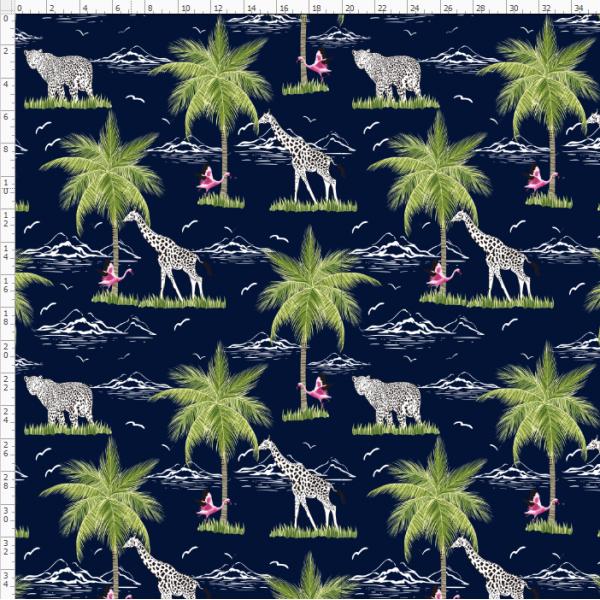 12-118 rainforest trees