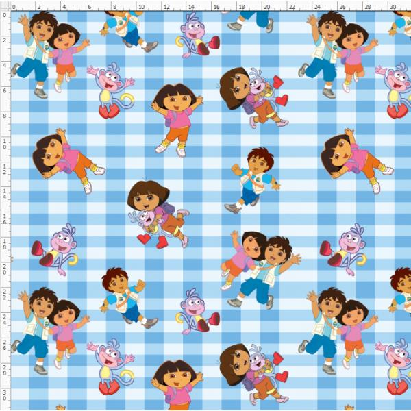 1-12 Dora the Explorer