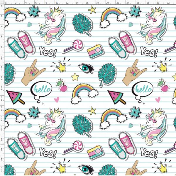 16-10 Rainbow Unicorn