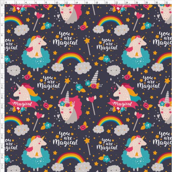 16-18 Rainbow Unicorn
