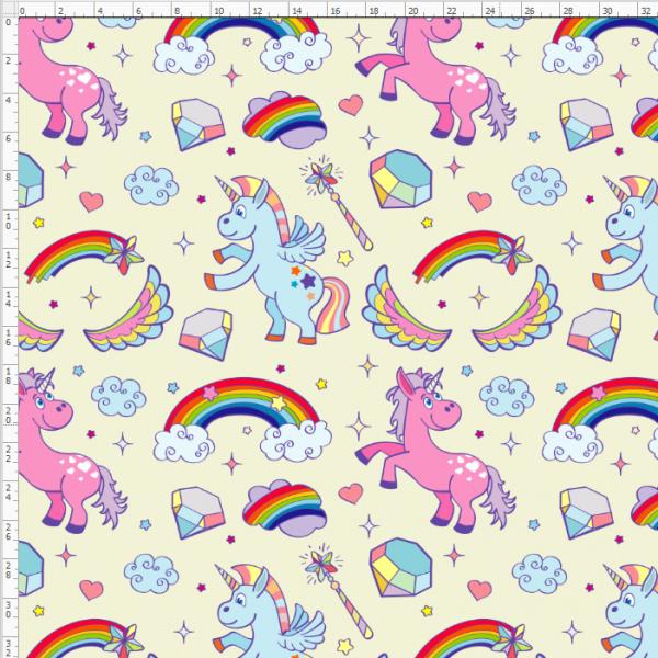 16-19 Rainbow Unicorn