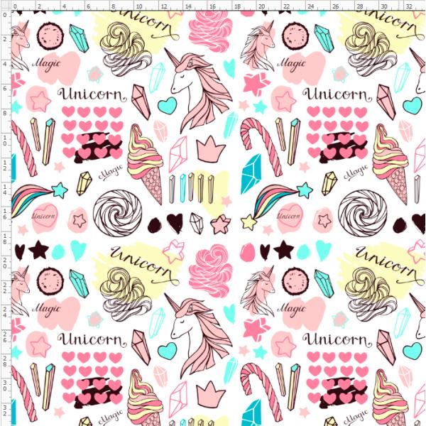 16-20 Rainbow Unicorn