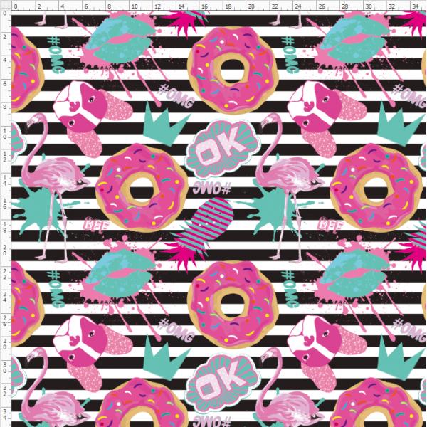 16-39 Pink doughnuts