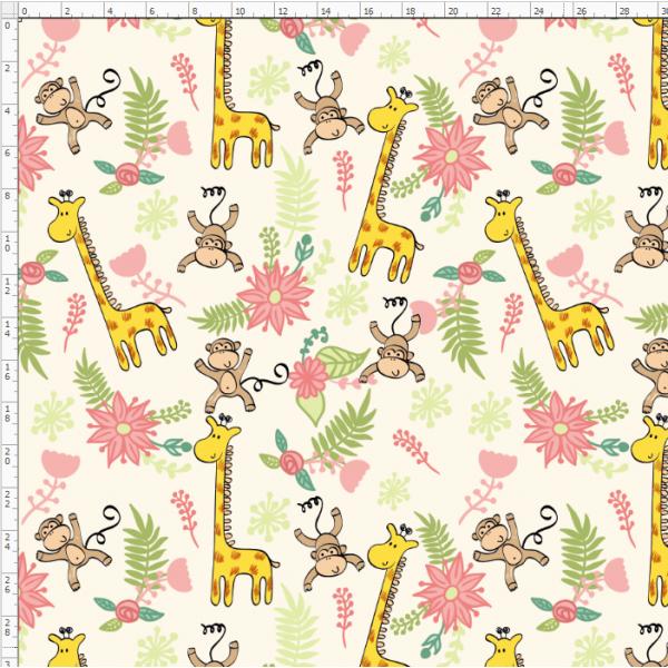 2-11 Giraffe&Deer