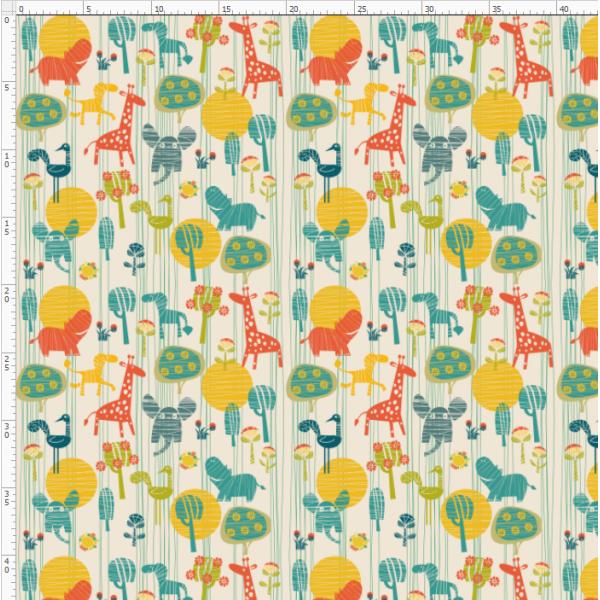 2-125 Giraffe&Deer