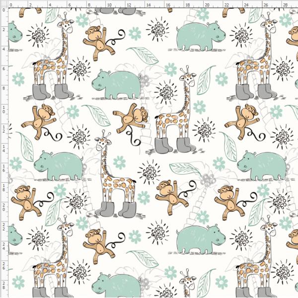 2-07 Giraffe&Deer