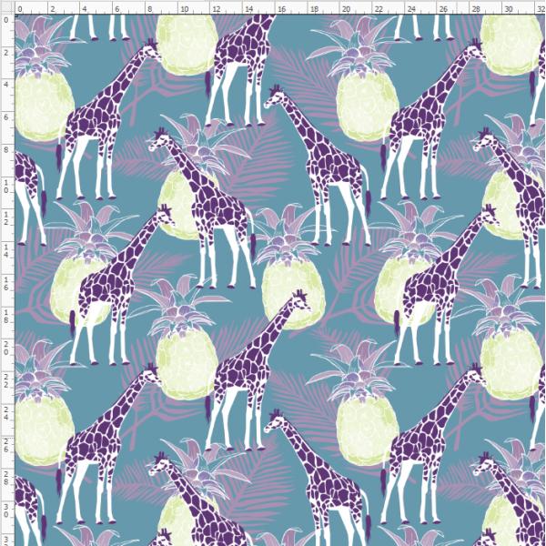 2-08 Giraffe&Deer