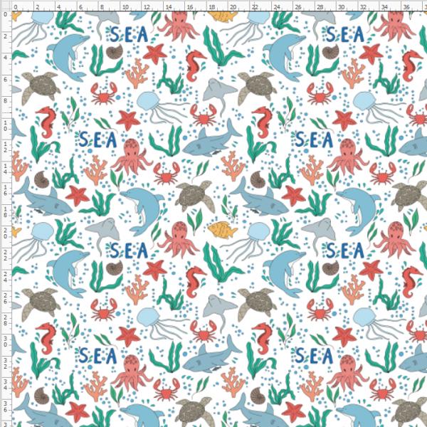 7-127 sea marine life