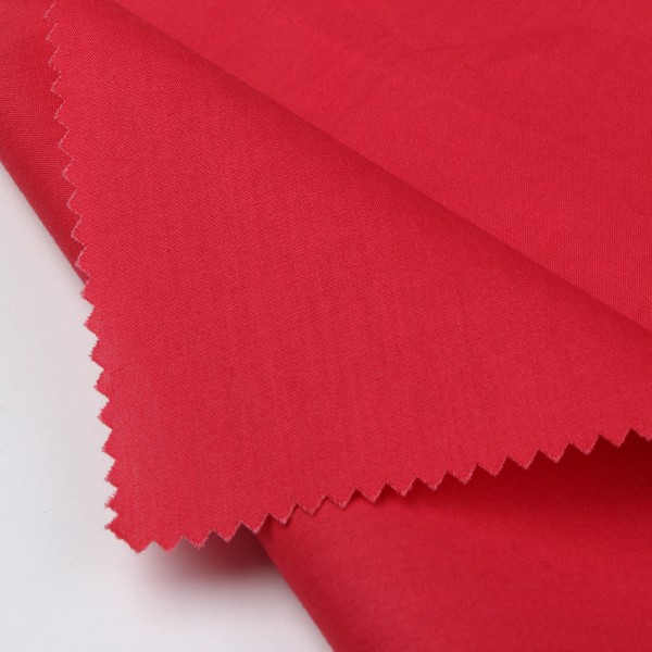 Wholesale solid cotton woven poplin fabric in stock