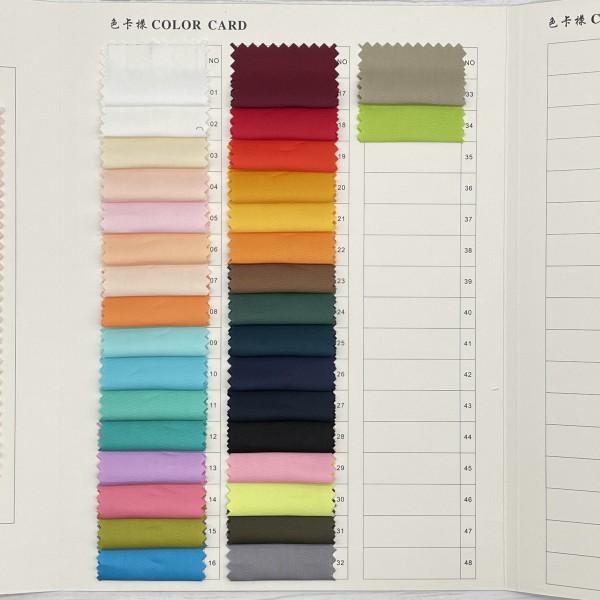 Wholesale solid twill cotton woven poplin fabric i...