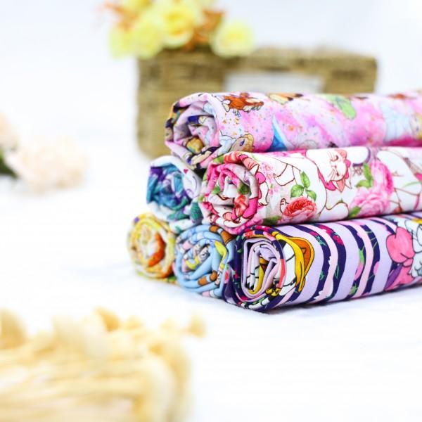 Bamboo lycra jersey custom printed fabric 200gsm