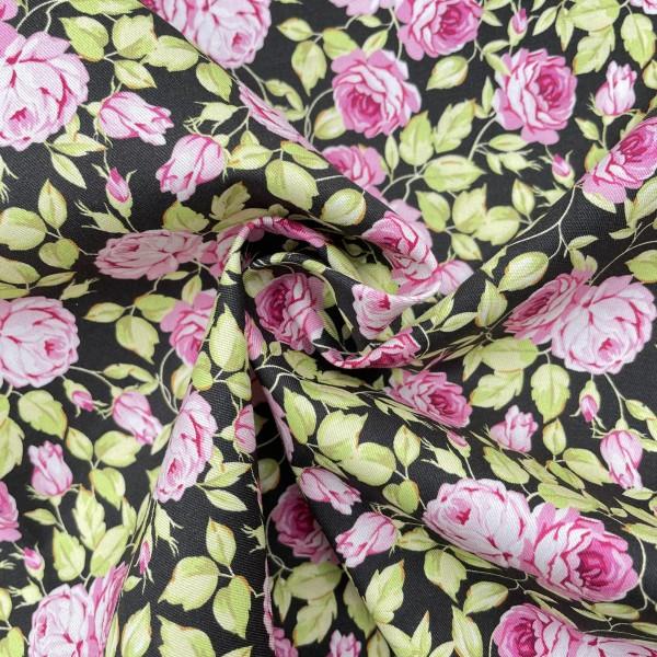 Cotton woven poplin custom printed fabric 32s