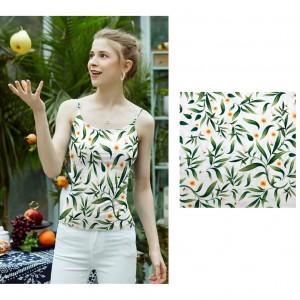 Swimwear polyester lycra custom printed fabric