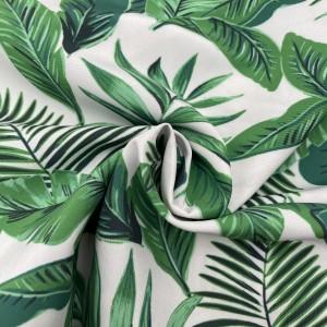Peach skin custom printed fabric