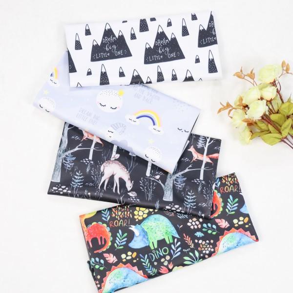 PUL custom printed fabric