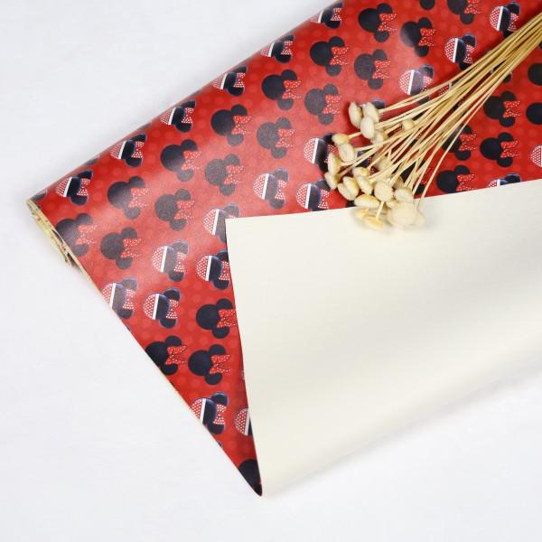 Vinyl faux leather custom printed fabric