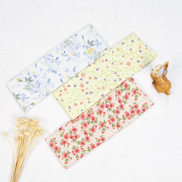 Rayon challis custom printed fabric